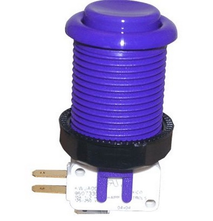Push Button Micro Switch Purple