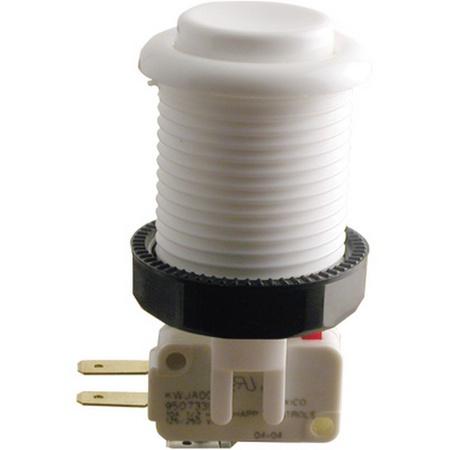 Push Button Micro Switch White