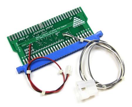 Q*bert Cabinet to JAMMA PCB Adapter