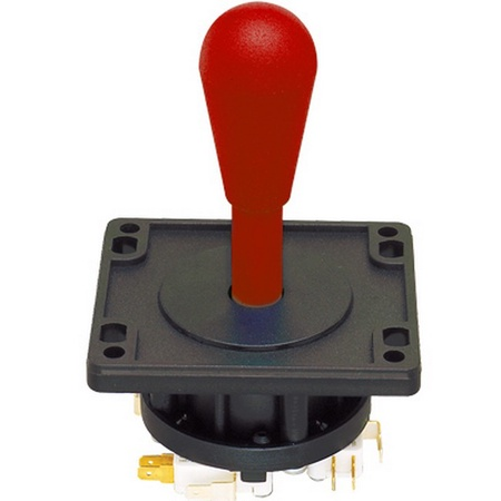 Red 8-Way Ultimate Joystick