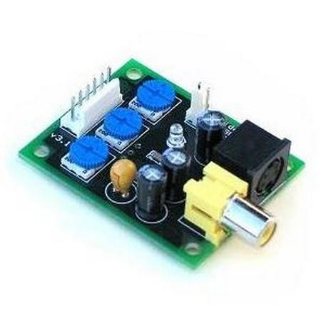 RGB to NTSC Video Encoder PCB v3.1