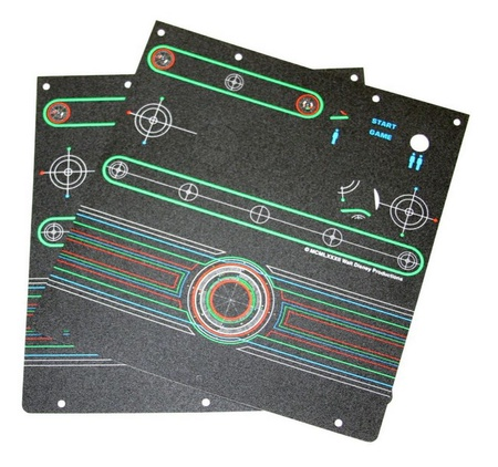 Tron Cocktail Control Panel Overlay Set