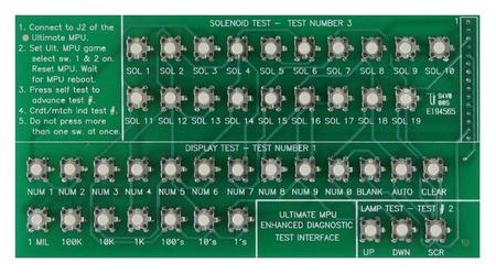 Ultimate MPU Test Card