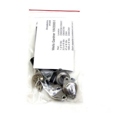 Wells Gardner V2000 B/W XY Cap Kit