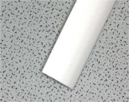 """White Smooth 3/4"""" T-Molding 250'"""