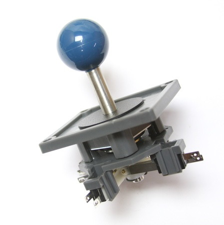 "Wico Blue 4-Way Ball 3.5"" Handle Leaf Joystick"