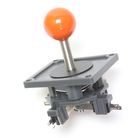 "Wico Orange 8-Way Ball 3.5"" Handle Leaf Joystick"