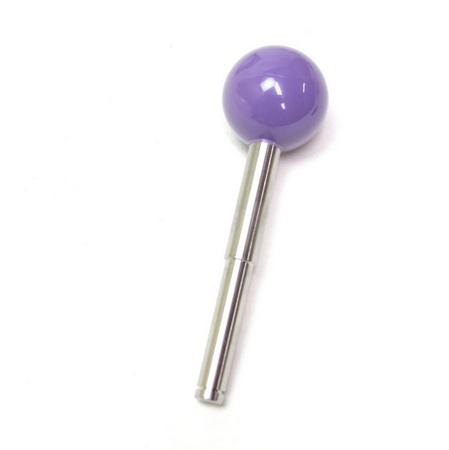 """Wico Purple 3.5"""" Ball Joystick Handle"""