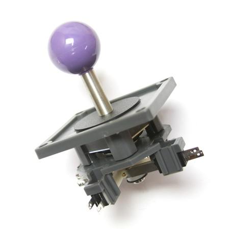 "Wico Purple 4-Way Ball 3.5"" Handle Leaf Joystick"