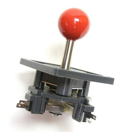 "Wico Red 4-Way Ball 3.5"" Handle Leaf Joystick"
