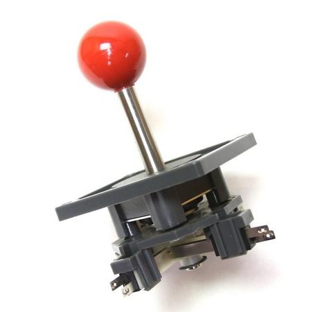 "Wico Red 4-Way Ball 4"" Handle Leaf Joystick"