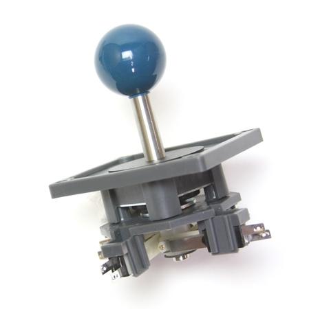 "Wico Teal Blue 4-Way Ball 3.5"" Handle Leaf Joystick"