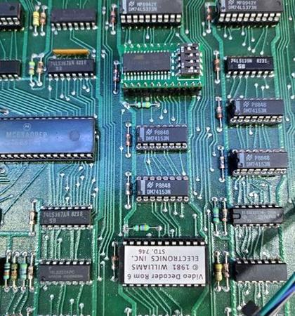 Williams Universal Video Decoder IC