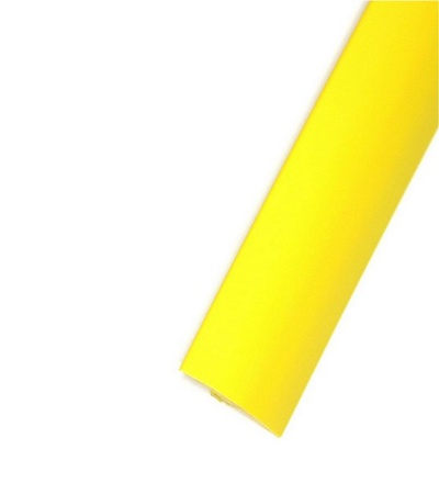 """Yellow Smooth 3/4"""" T-Molding 250'"""