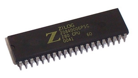 Z80 Processor 2.5 MHz
