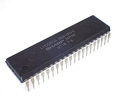 Z80A Processor 4 MHz