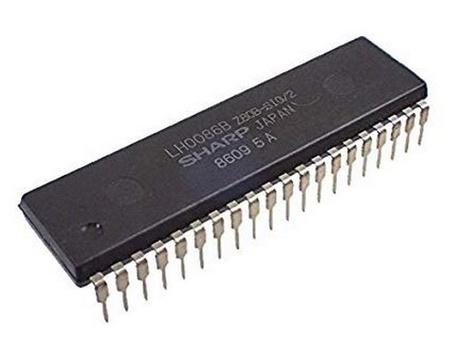 Z80B Processor 6 MHz