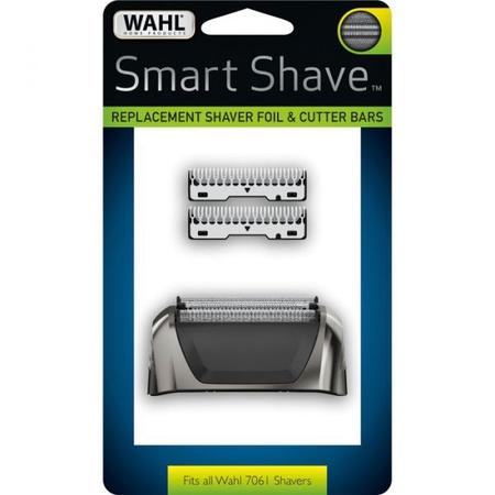 Wahl Smart Shave Foil & Cutter Black Chrome for 7061