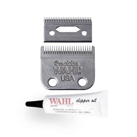 Wahl Precision Clipper Blade Set With Oil