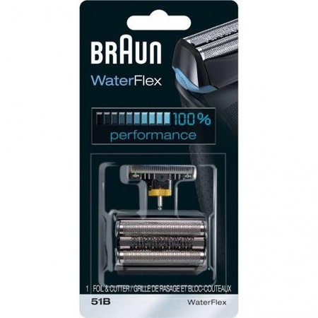 Braun 51B Foil & Cutter Kit, Series 5 Black