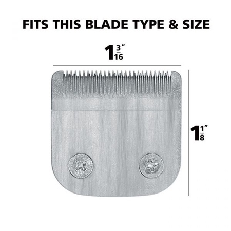 """Wahl Stainless Steel Precision Detachable Blade Set 1 3/16"""" Wide"""