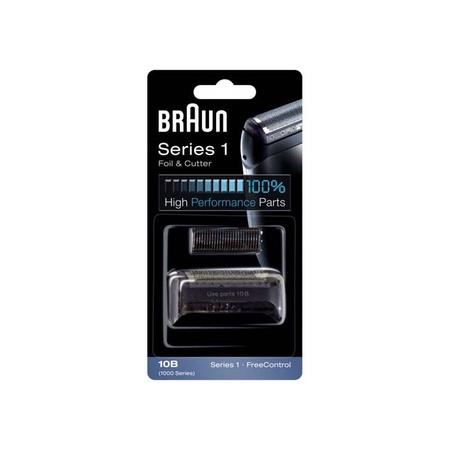 Braun 10B, 20B, 1000/2000 Cruzer Foil & Cutter Set Black