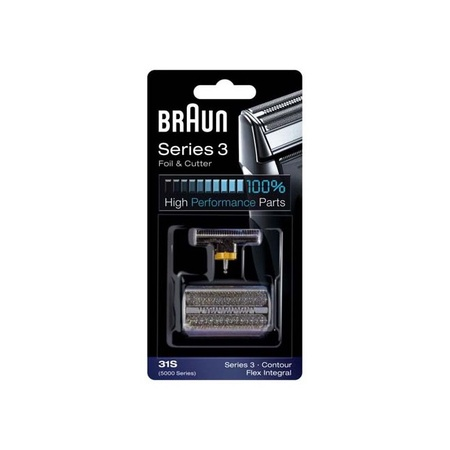 Braun 31S Foil & Cutter Kit Silver, 5000/6000 Series