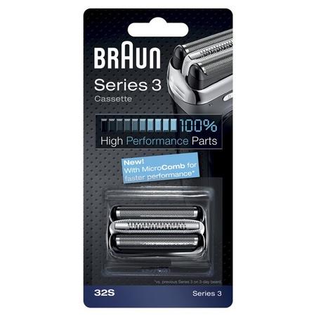 Braun 32S Foil & Cutter Cassette Silver