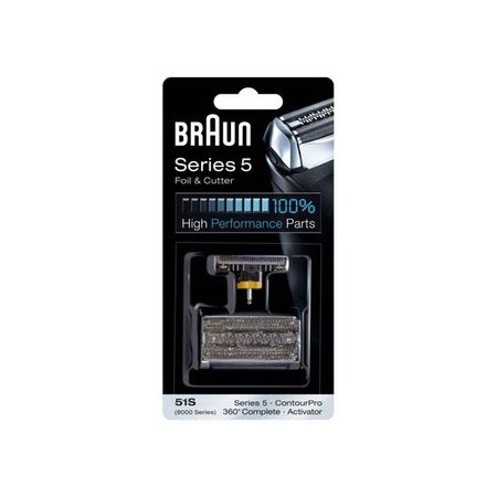 Braun 51S Foil & Cutter Kit, 8000, Series 5 Silver