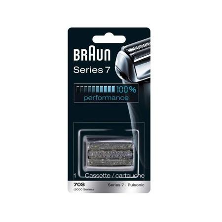Braun 70S, OptiFoil & Cutter Cassette Pulsonic, Series 7