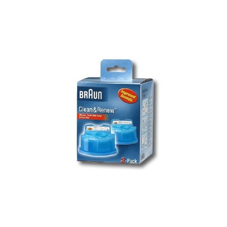 Braun Clean & Charge Refill  2 Pack
