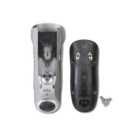 Braun Housing Matt Silver, 3 LED, Type 5697 W&D