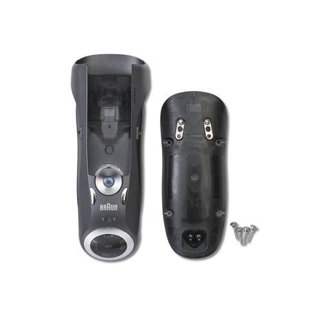 Braun Housing Noble Metal , 3 LED, Type 5697 W&D