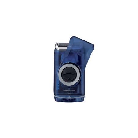 Braun M-60B Blue Pocket Go AA Battery Electric Shaver