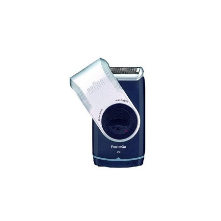 Braun M90 Silver Pocket Go AA Battery Electric Shaver