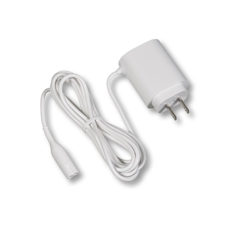 Braun Power Cord White Straight Cable 100-240 Volts
