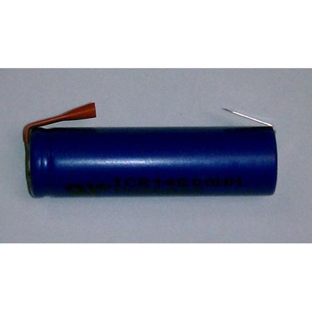 Li -Ion Battery, AA Size 750 MAH, 3.6V 14500