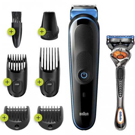 Braun 7 in 1 Styling Kit Cord/Cordless Li-Ion Battery 5541