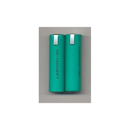 """Ni-Mhi Battery Pack two """"AA"""" with tabs"""