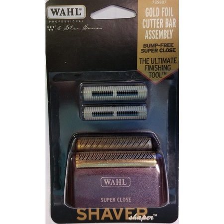 Wahl 5 Star Foil & Cutter Super Close, Red/Gold